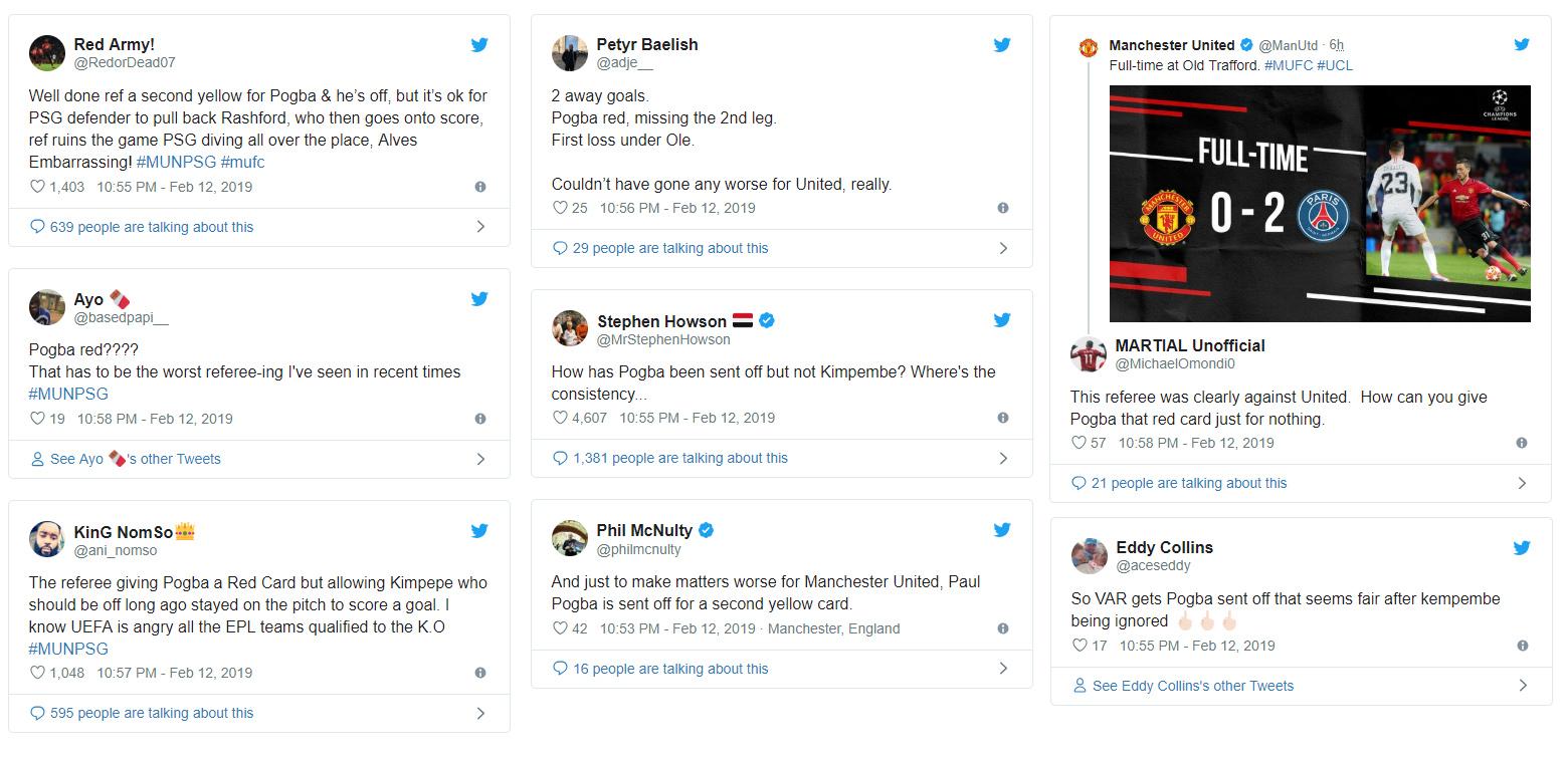 Reakcie z Twitteru