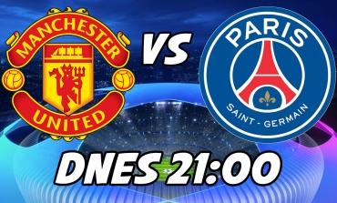 LIGA MAJSTROV: Pred zápasom Manchester United vs Paris Saint Germain