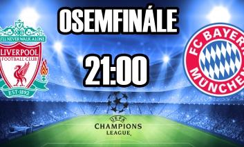 Zaujímavosti pred zápasom Liverpool - FC Bayern Mníchov