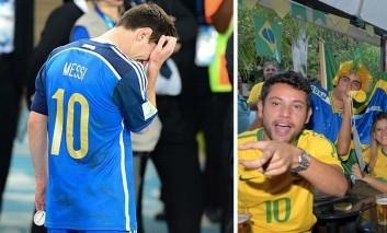 Brazílski fanúšikovia vyzývajú svojich: Nechajme Čile vyhrať, vyradíme Argentínu!