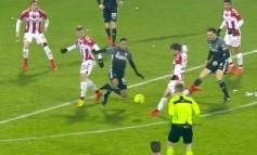 Lesniakov prvý gól vo veľkom futbale, využil chybu Denisa Vavra!